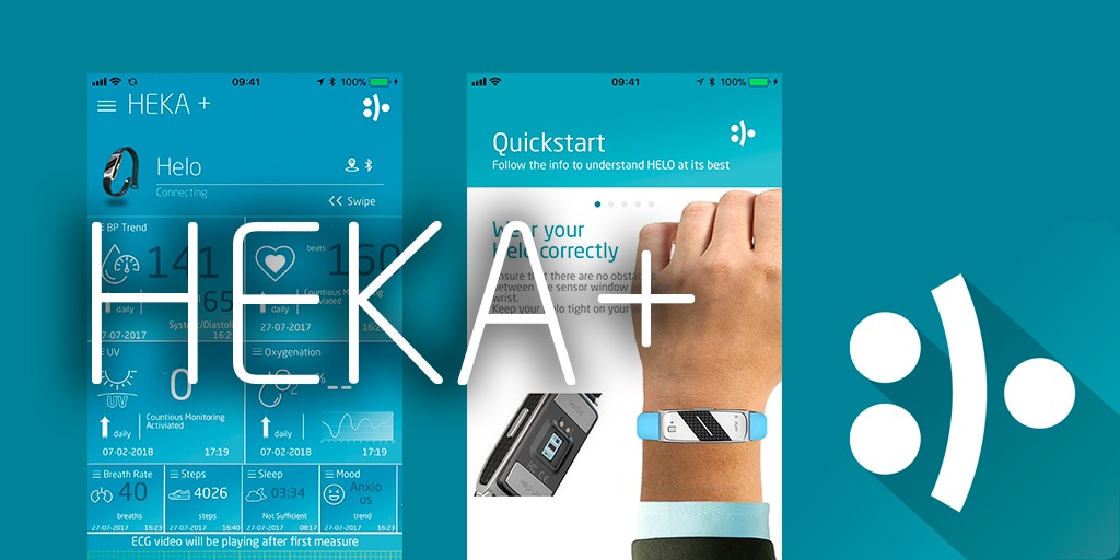 HEKA+ is on HeloAppStore